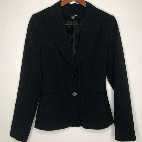 H&M Jackets & Blazers - H&M pinstripe blazer size 4